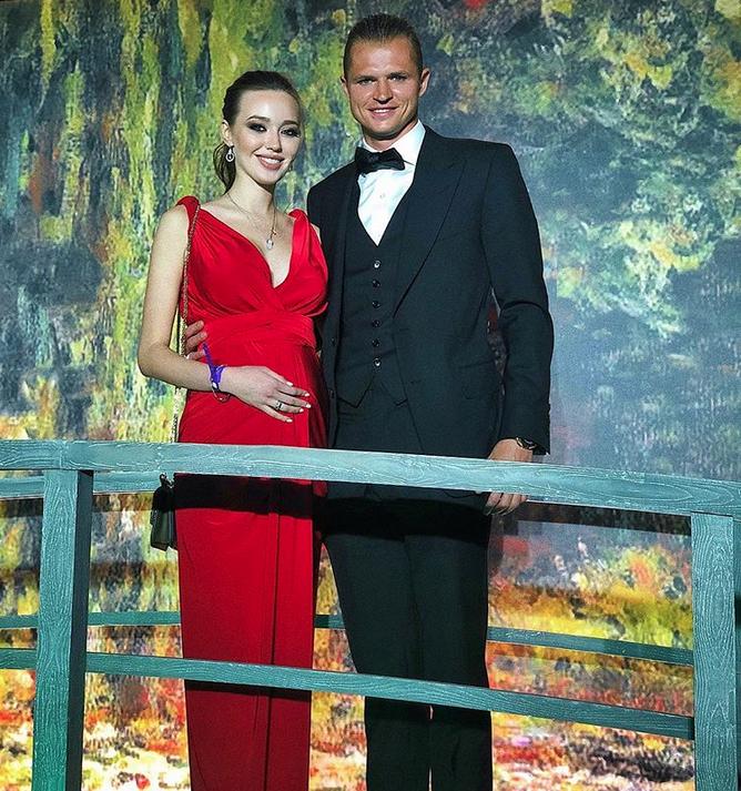 Анастасия Костенко и Дмитрий Тарасов, фотоархив. Фото Скриншот www.instagram.com/kostenko.94/