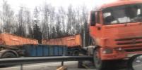 Серьезное ДТП перекрыло Мурманское шоссе: есть погибший