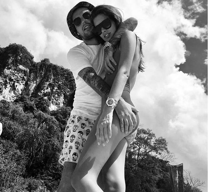 Гуф и Кети Топурия, фотоархив. Фото Скриншот www.instagram.com/therealguf/