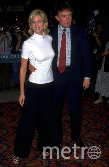 Марла Мэйплс, вторая жена Дональда Трампа. Фото Getty