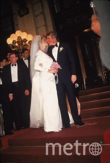 Свадьба Дональда Трампа и Марлы Мэйплс. Фото Getty