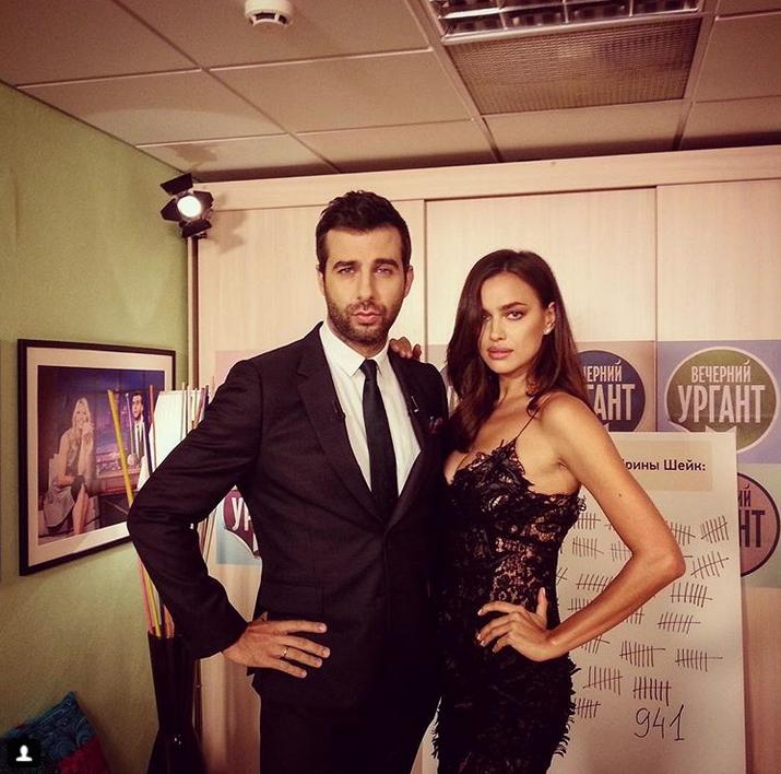 Иван Ургант и Ирина Шейк. Фото Скриншот Instagram: @urgantcom