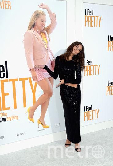 """На показе фильма """"Красотка на всю голову""""/ I Feel Pretty. Эмили Ратаковски. Фото Getty"""