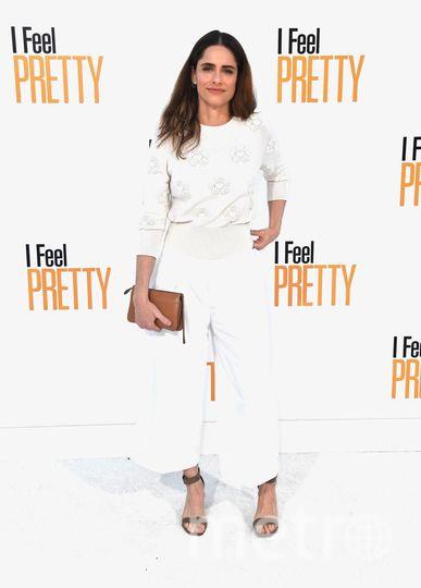"""На показе фильма """"Красотка на всю голову""""/ I Feel Pretty. Аманда Пит. Фото Getty"""