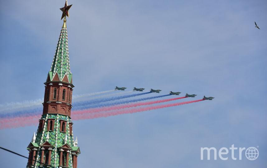 Стало известно, когда в Москве состоятся репетиции Парада Победы. Фото Василий Кузьмичёнок