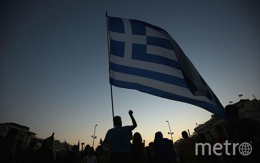 Флаг Греции. Фото Getty