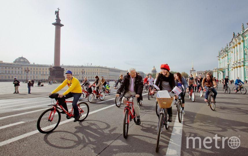 Велодень пройдет в Петербурге. Фото Предоставлено организаторами