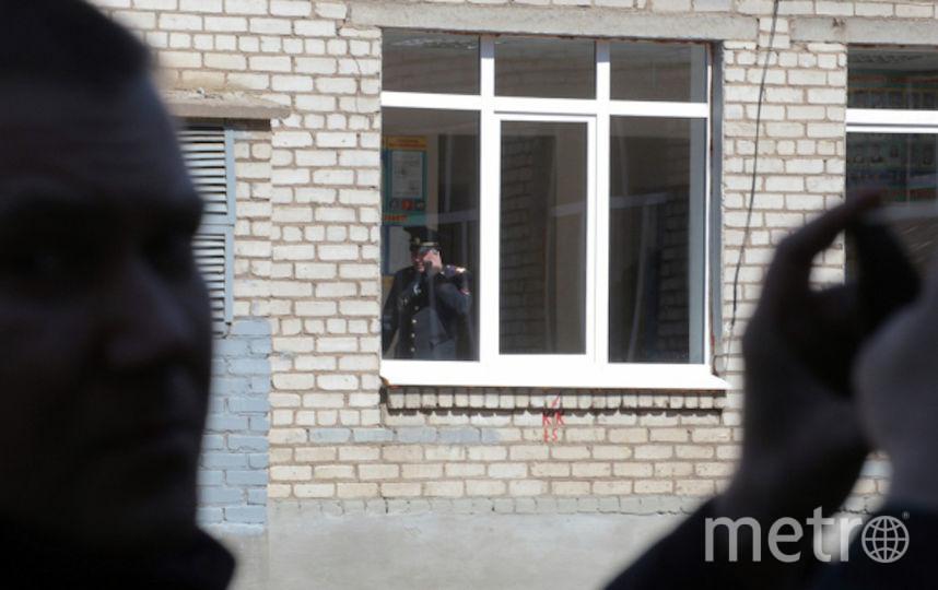 С места ЧП. Фото РИА Новости
