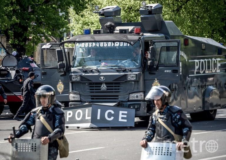 Протестные акции в Ереване. Фото AFP