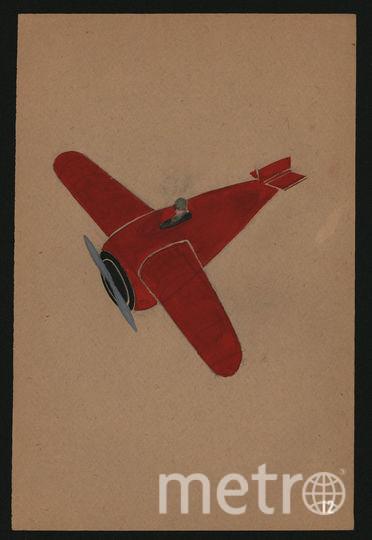 Один из эскизов Крейцера. Фото предоставлено Музеем Гулага