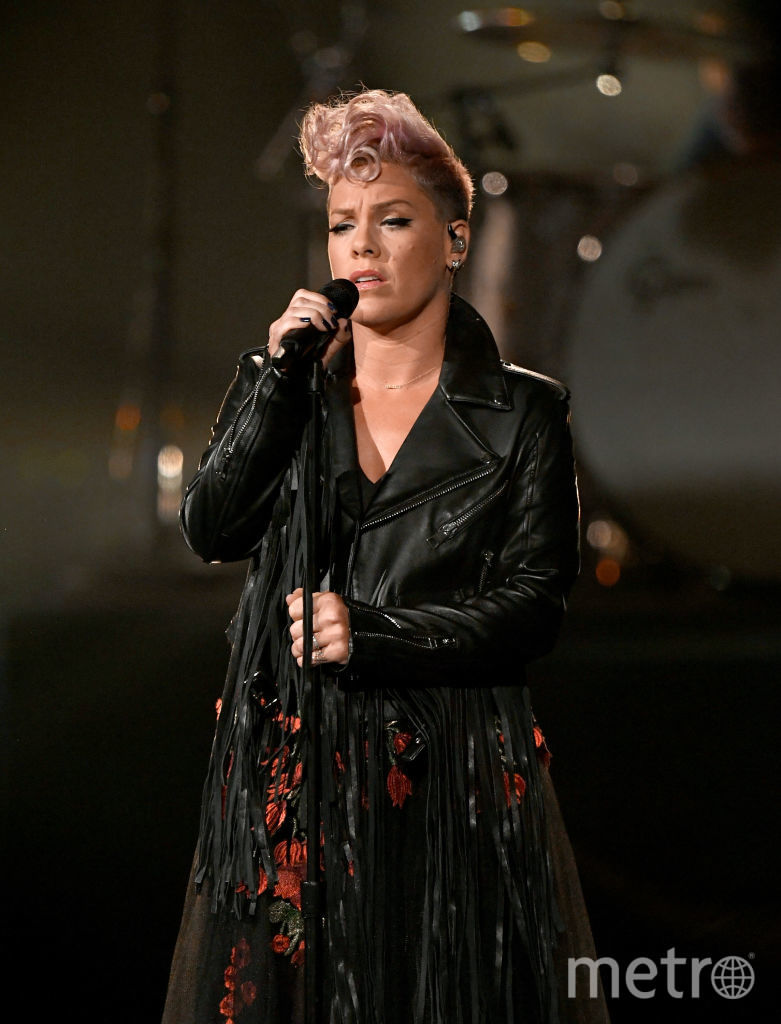 Певица Пинк. Фото Getty