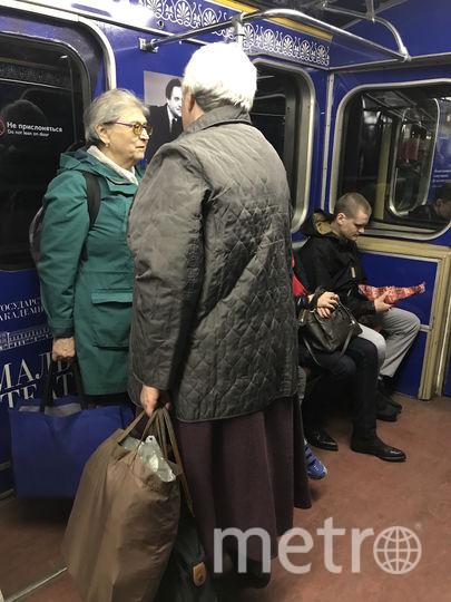 """Женщины признались корреспонденту Metro, что не любят сидеть в метро. Фото Мария Беленькая., """"Metro"""""""