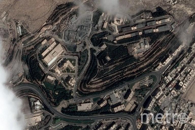 Атака на Дамаск. Фото AFP