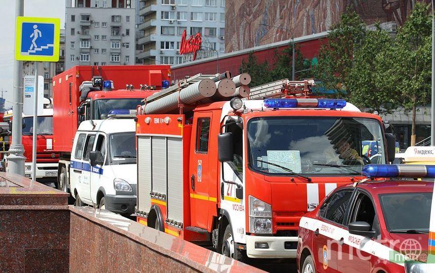 В столицеРФ из-за пожара изТЦ «Измайловский» эвакуировали 650 человек