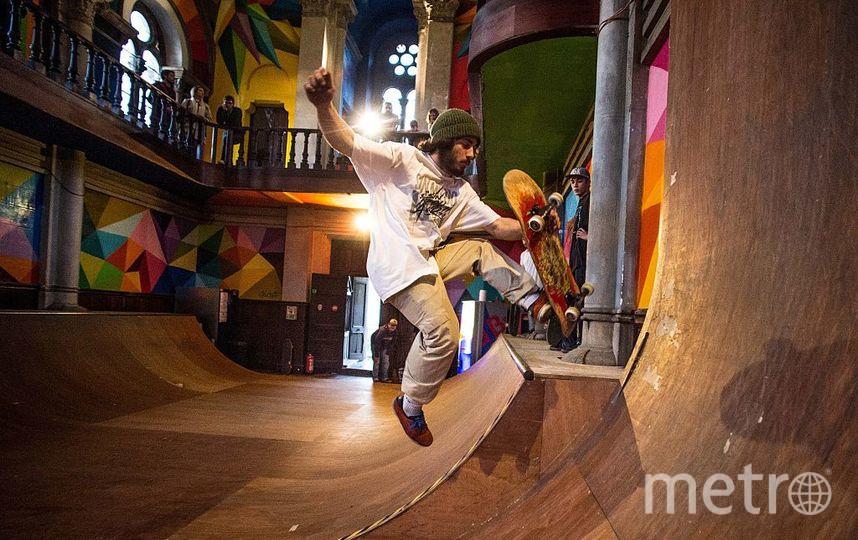 Сорокаметровую рампу для скейтеров установят в центре Москвы. Фото Getty