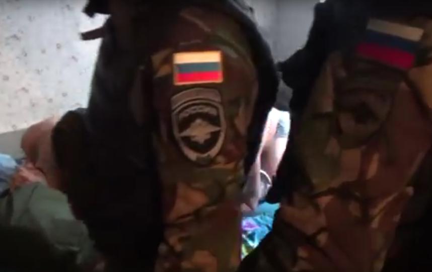 Видео: оперативная съёмка СК РФ по СПб.