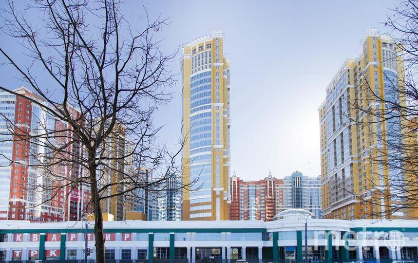 Фасад с Просвещения. Фото Л1 – Строительной компании №1.