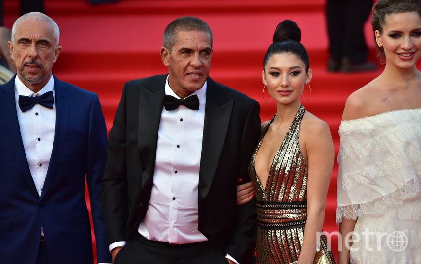 Сами Насери, Бай Лин и другие гости церемонии. Фото Василий Кузьмичёнок
