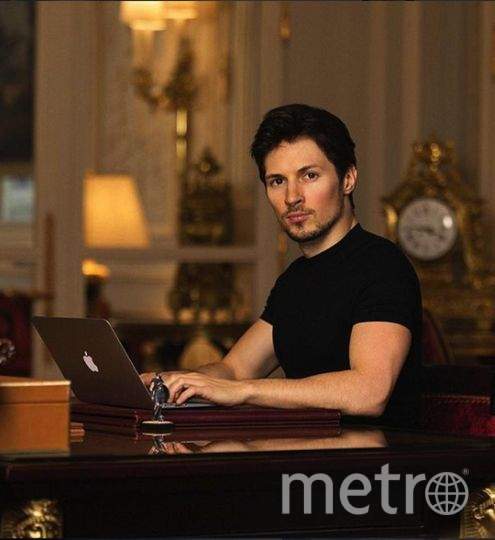 Павел Дуров. Фото https://www.instagram.com/durov/