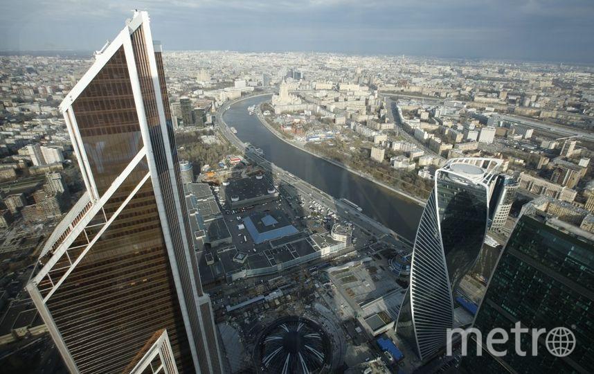 Вбашне «Федерация» открылась самая высокая смотровая площадка вевропейских странах