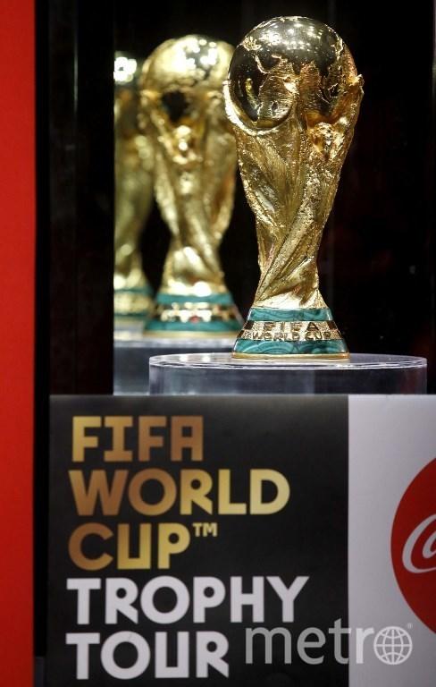 Кубок Чемпионата мира по футболу FIFA. Фото AFP