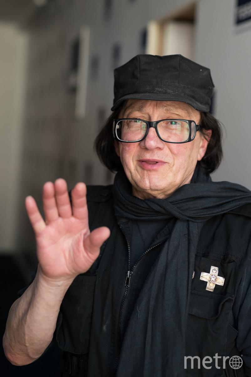 """Михаил Шемякин. Фото Святослав Акимов, """"Metro"""""""