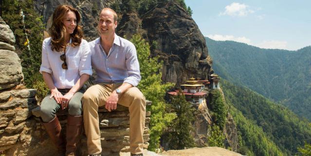 Принц Уильям и Кейт Миддлтон.