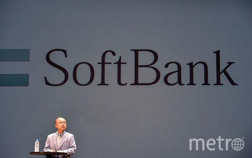 Компания SoftBank, инвестор проекта. Фото Getty