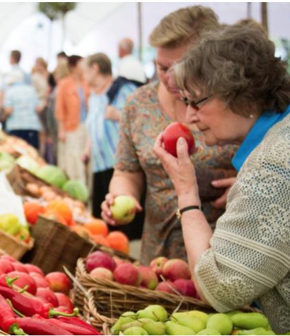 Свежие овоши и фрукты доставят в разные районы столицы. Фото mos.ru