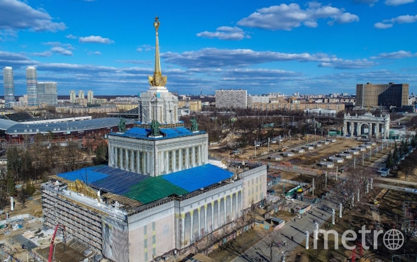 ВДНХ. Фото РИА Новости