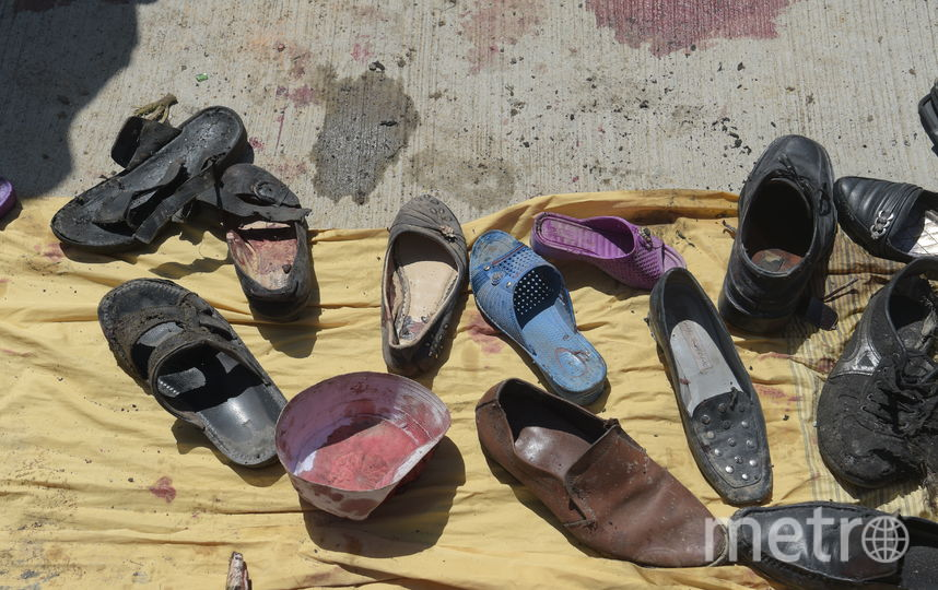 Взрыв в Кабуле. Фото AFP