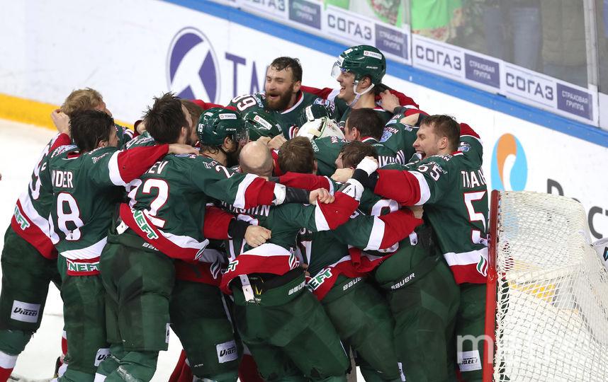 Казанцы выиграли серию со счётом 4:1. Фото photo.khl.ru