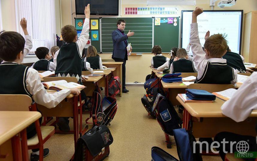 """Урок в школе. Фото Василий Кузьмичёнок, """"Metro"""""""