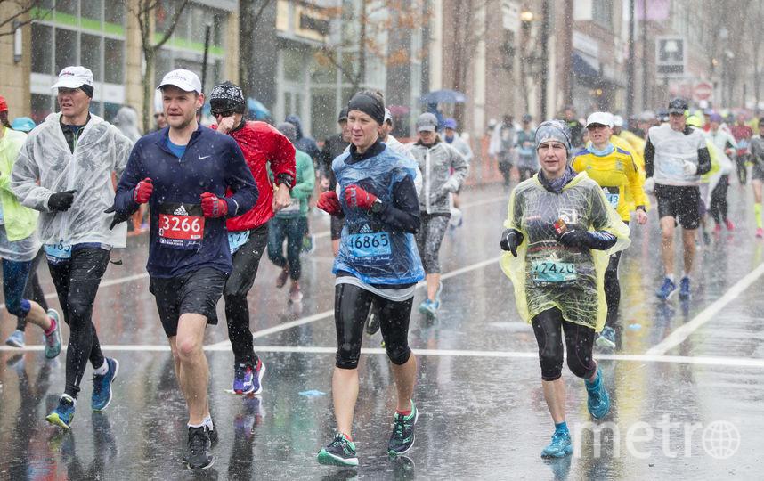 В этом году Бостонский марафон стал проверкой на прочность и испытанием на выживание. Фото Getty
