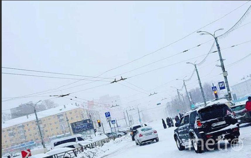 Киров замело снегом. Фото Instagram