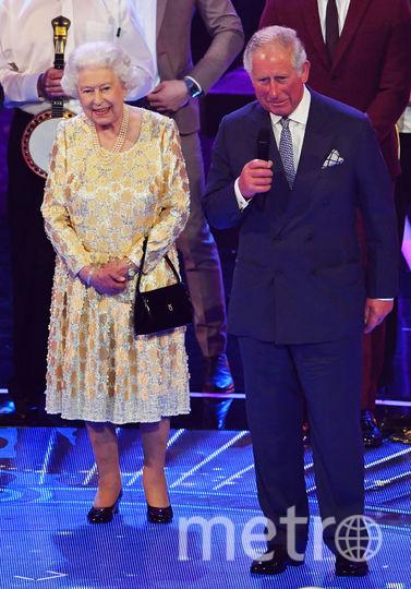 Елизавета II и принц Чарльз. Фото AFP