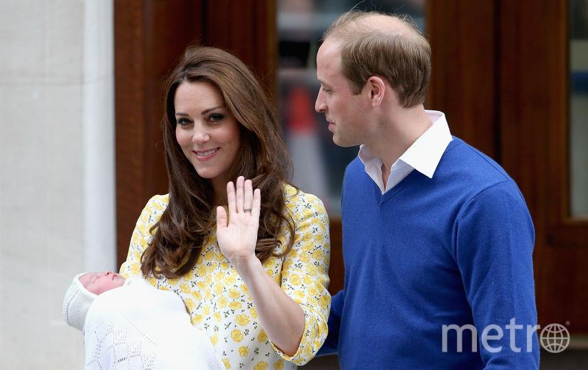 С принцессой Шарлоттой в мае 2015 года. Фото Getty