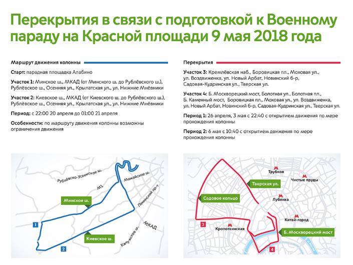 Репетиция парада коДню Победы перекроет улицы вцентре Петербурга