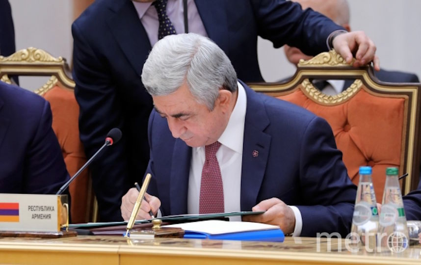 Серж Саргсян. Фото РИА Новости