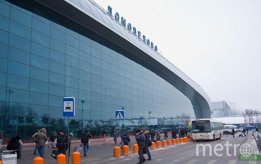 В Домодедово самолёт столкнулся с буксировщиком. Фото Василий Кузьмичёнок