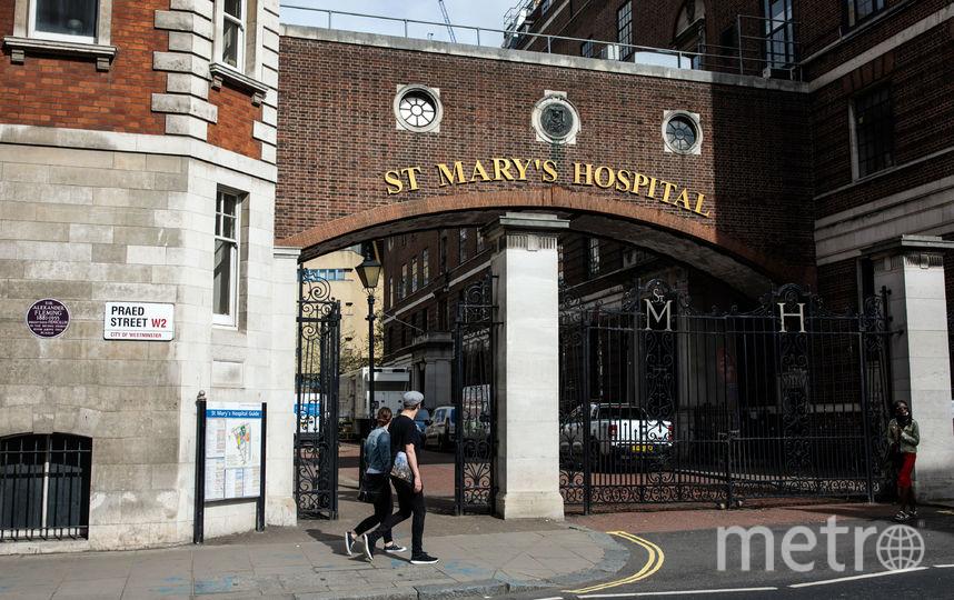 Возле Линдо, больница Святой Марии. Фото Getty