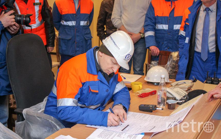 Рабочее движение на новом участке Линии 3 открыли. Фото gov.spb.ru
