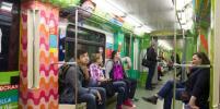 В столичном метро запустили поющий поезд. Фото