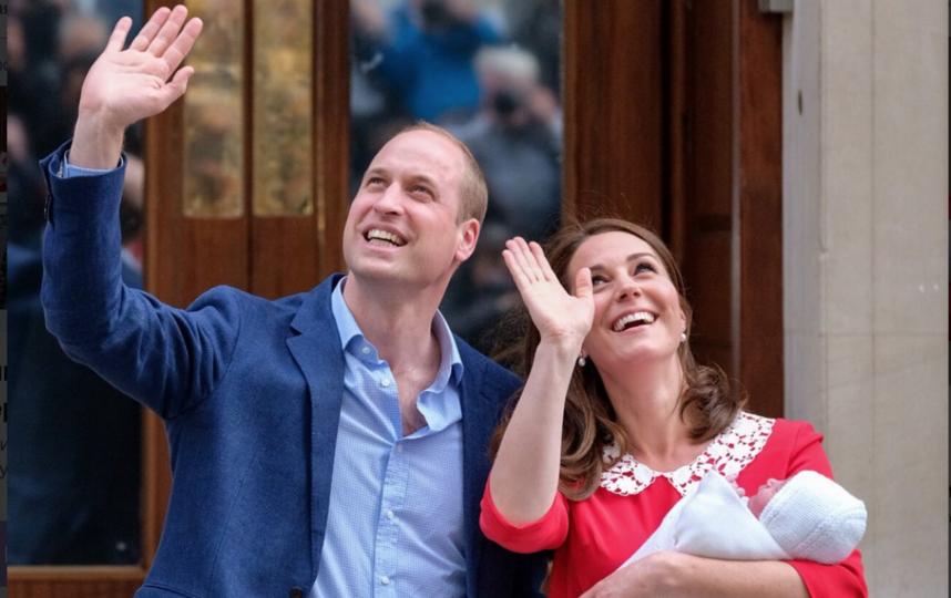Кейт Миддлтон и принц Уильям. Фото twitter.com/kensingtonroyal