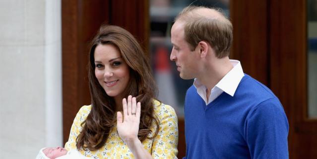 После рождения принцессы Шарлотты в 2015-м году.
