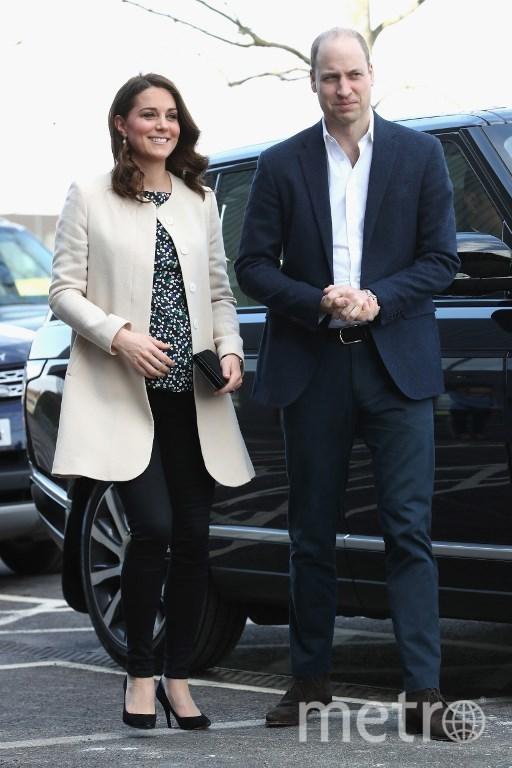 Герцог и герцогиня Кембриджские. Фото AFP