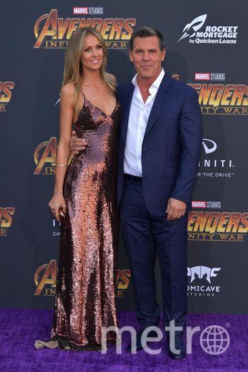 """На премьере фильма """"Мстители: Война бесконечности"""". Кэтрин Бойд и Джош Бролин. Фото Getty"""