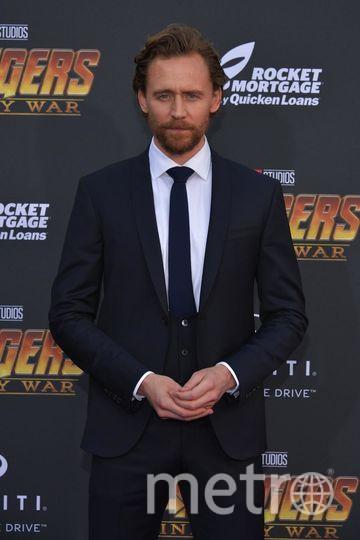 """на премьере фильма """"Мстители: Война бесконечности"""". Том Хиддлстон. Фото Getty"""