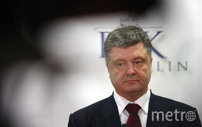Президент Украины Пётр Порошенко. Фото Getty