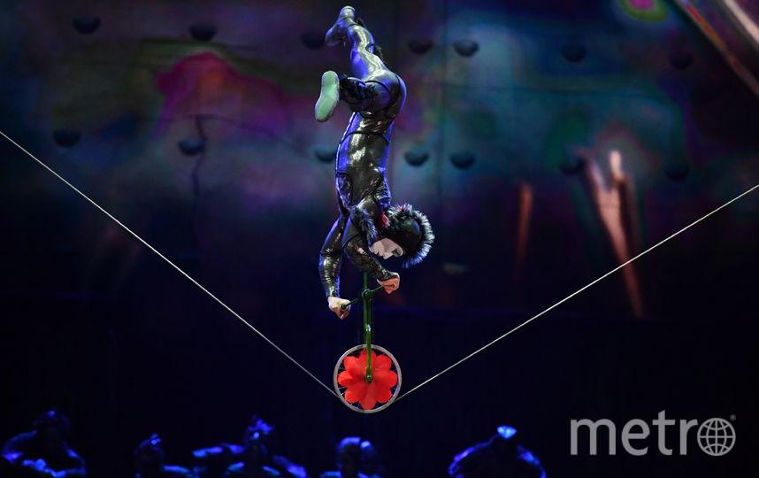 Канадский Cirque duSoleil бесплатно выступит в«Зарядье» 25апреля